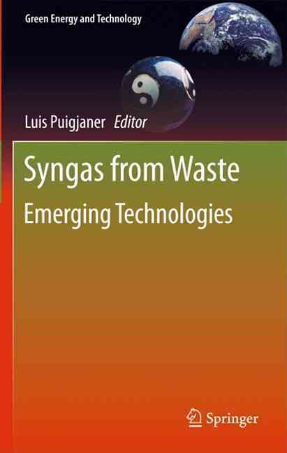 Syngas from Waste By Puigjaner, Luis (EDT)